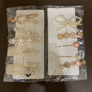 LADIES FAUX PEARL HAIR PINS